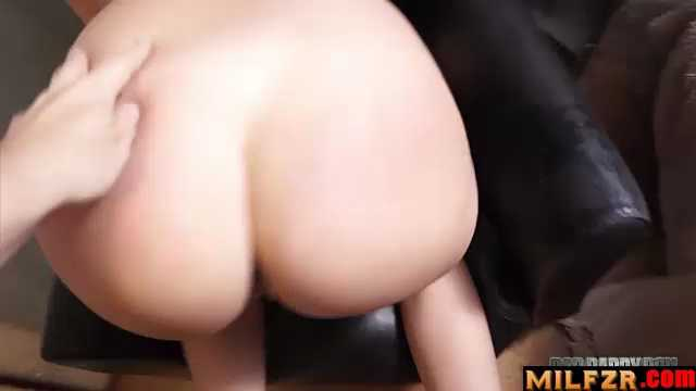 Violet Star Humilated And Punished By Dad