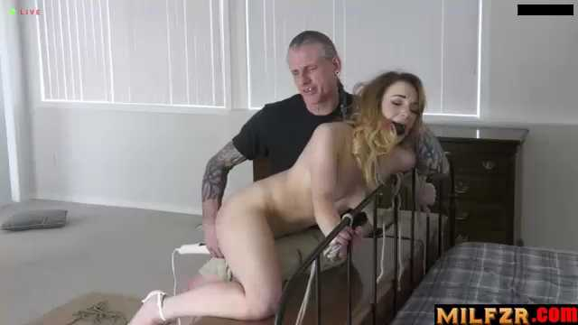 Slutty Daughter Caught In the Act