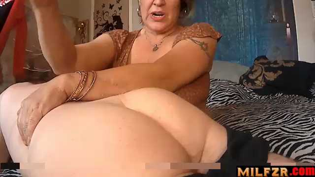 Mommy Spanks Her Naughty Son