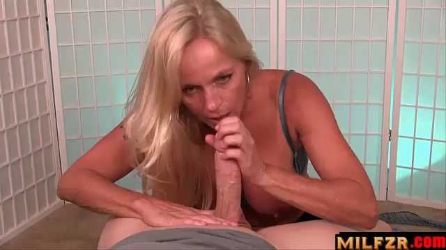 Dani Dare Blows Her College Bound Son