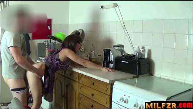 Stuck mom forced fucked