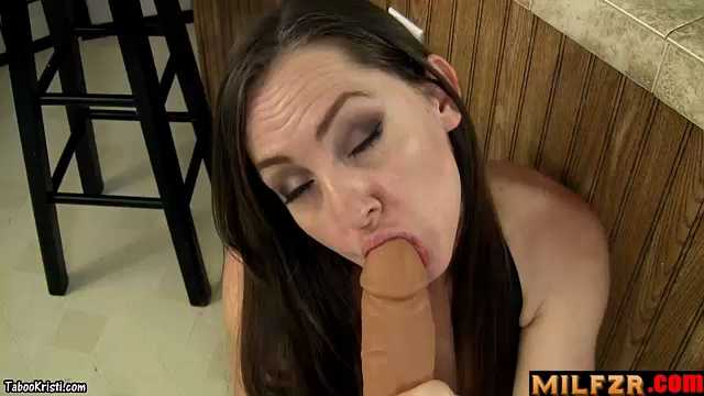 Taboo Milf Kristi Mommy's Re-Assuring Blowjob