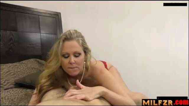Mother feeling horny