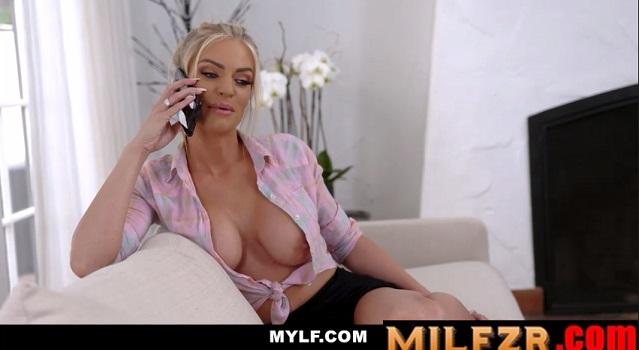 Big Tit Blonde Milf Gets Creampied