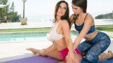 Milf Kendra Lust & Riley Reid Lesbians – Mommy Posing