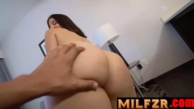 Sexy Latina Stepmom Helps Son Relieve Tension