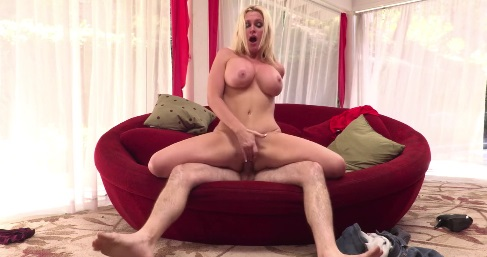 Alena Croft Gets A Creampie
