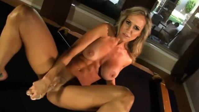 MILF Pornstar Brandi Love In Solo Action