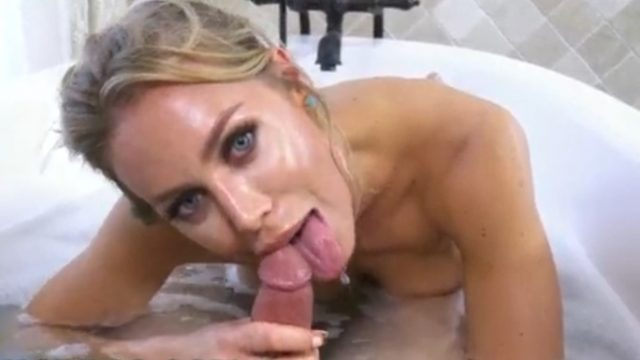 Bath Time With MILF Nicole Aniston