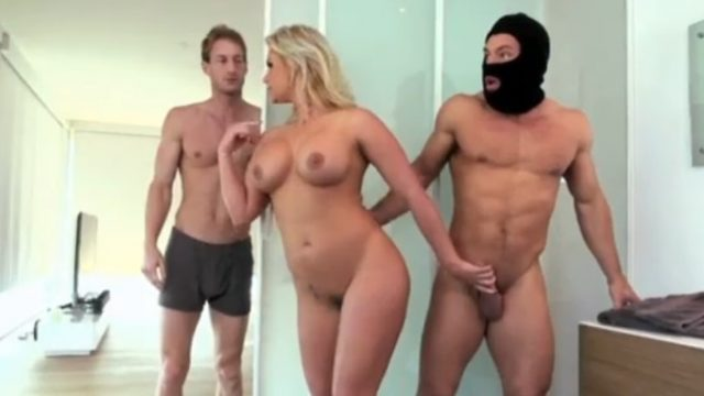 Phoenix Marie Fucks Burglar While Hubby Sleeps