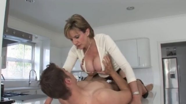 Older Stepmom Gives The Royal Treatment