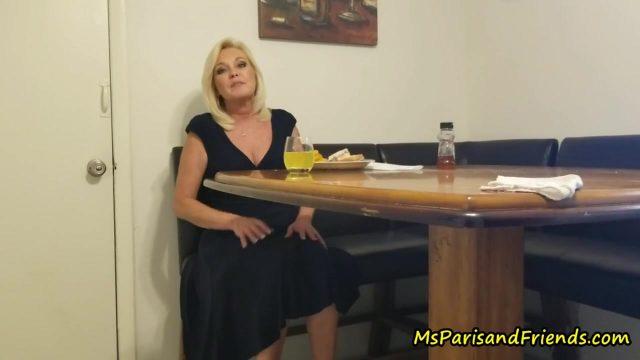 Naughty Taboo Step-Aunt Paris Seduces Her Step-Nephew Twice