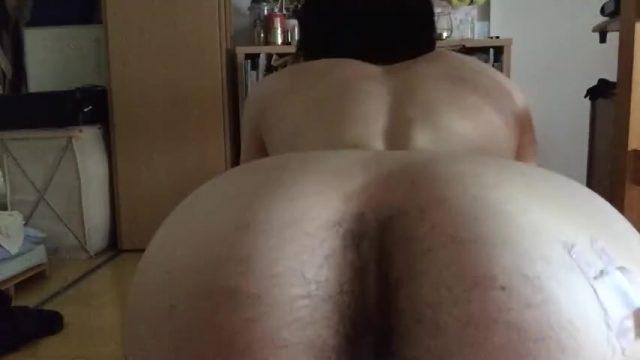 [Selfie] Anal masturbation by a Japanese idol!【Spanked】【Orgasm】【Blackout】
