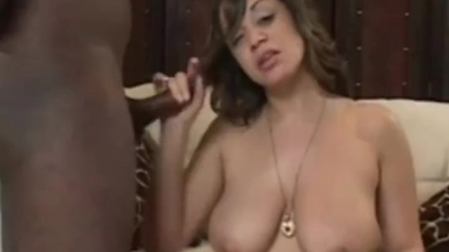 Stroking His Hard BBC Is Her Thing To Enjoy The Moment