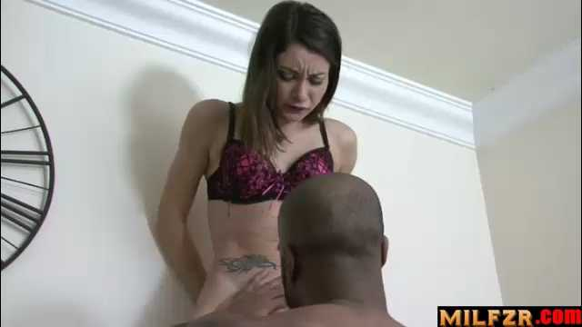 Hot Sister Forced By Black Step Brother