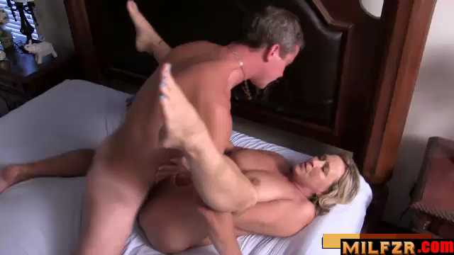 Mom And Her Boy Masturbate Together