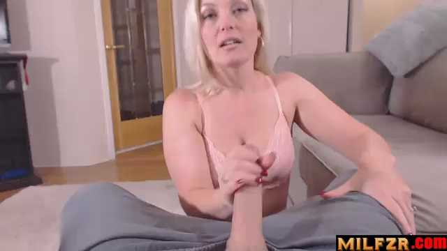 Step mom And Newly Cut Cock