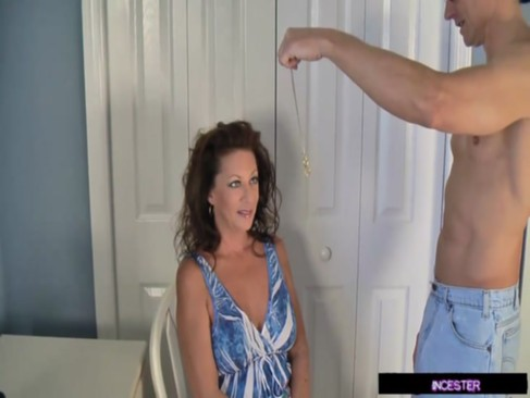 Son hypnotized and fucked mom