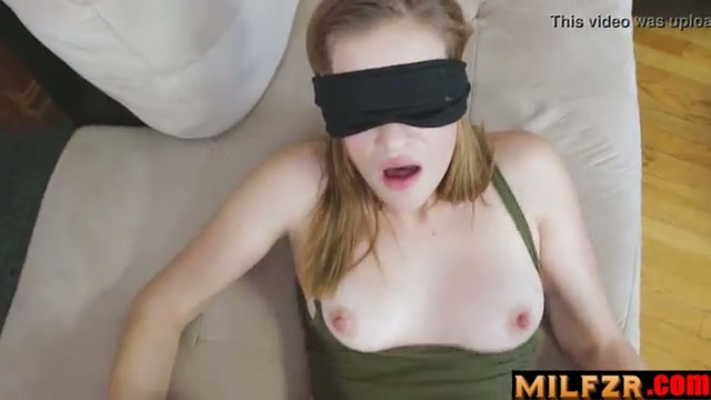 blindfolded sister