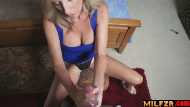 Helping mother pick panties