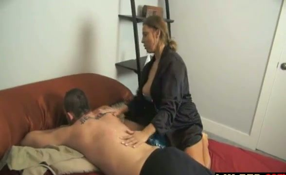 Lucky son fucks his stunning mother