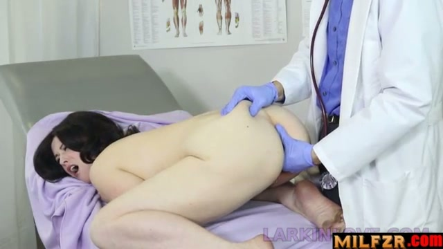 Gynecological examination of son