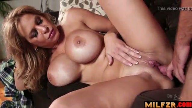 Mom knows son likes big boobs