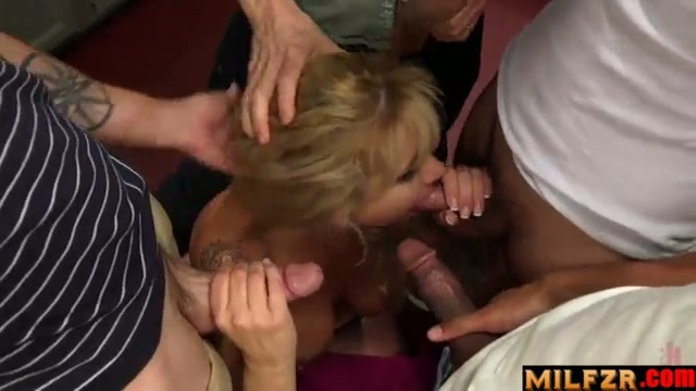Son caught mom with friends and joined