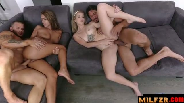 Two dads fucked their daughter together part 02