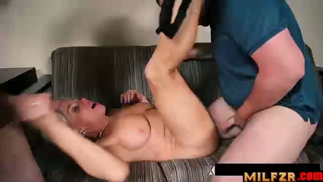 Mother fucks her sons